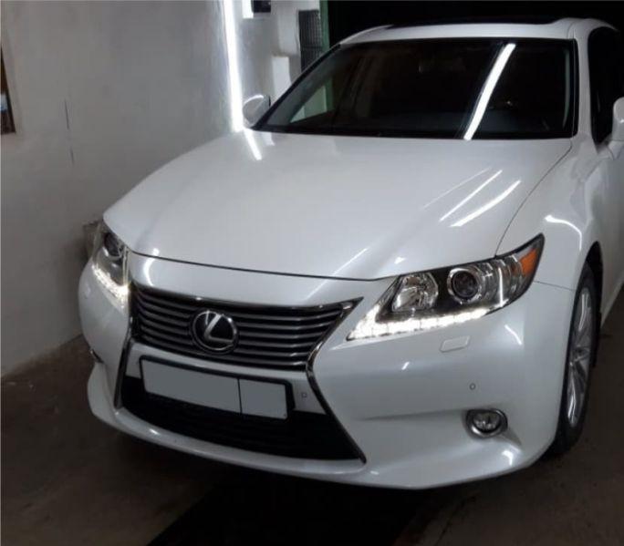 Установка сигнализация Starline E96 на Lexus ES 250