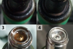 до и после чистки форсунок
