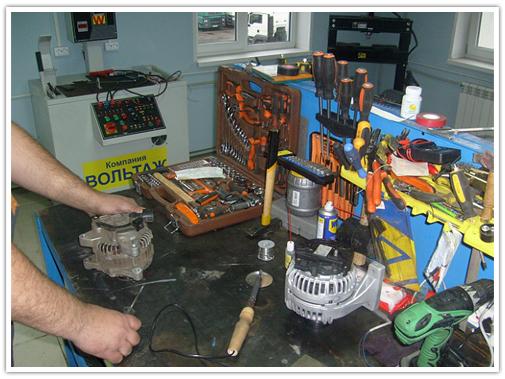 ремонт генератора в астане