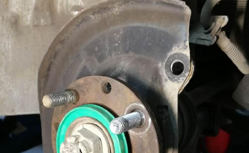 испорченный тормозной диск