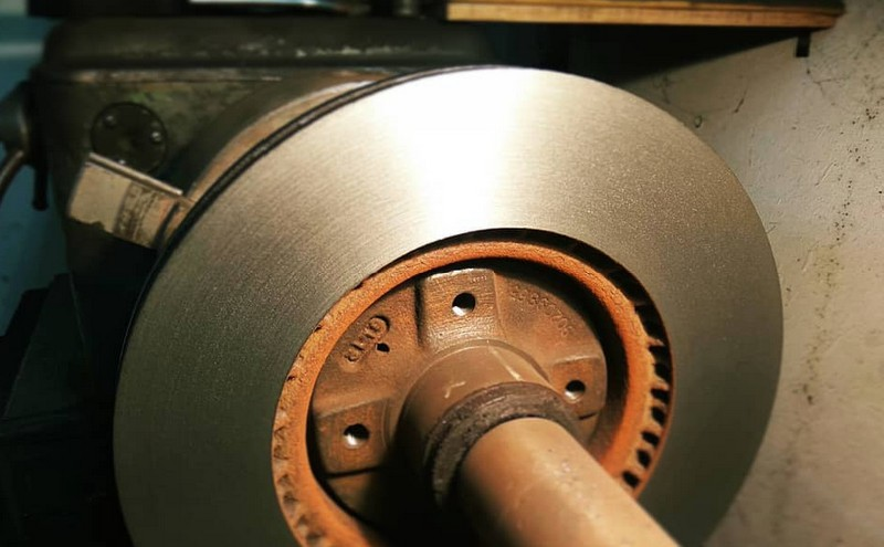 восстановленный тормозной диск