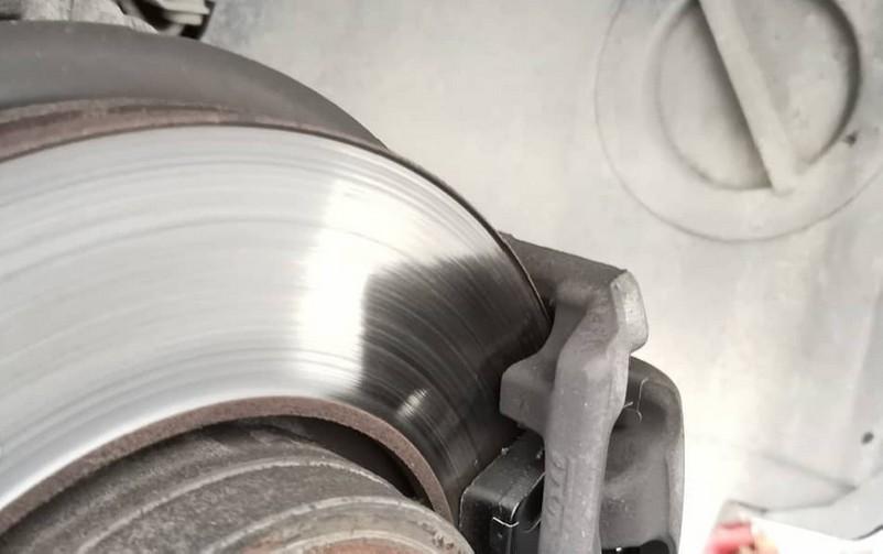 изношенный диск